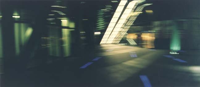 Potsdamer Platz 10, 2001, Color Print, 84 x 198 cm