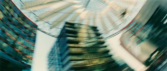 Potsdamer Platz 2, 2001, Color Print, 84 x 198 cm