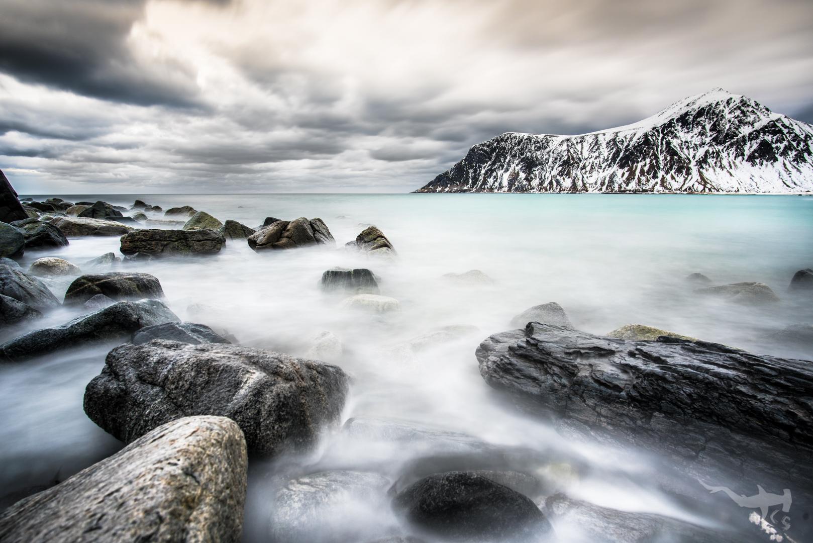 Stones in the Sea - Lofoten/Norway