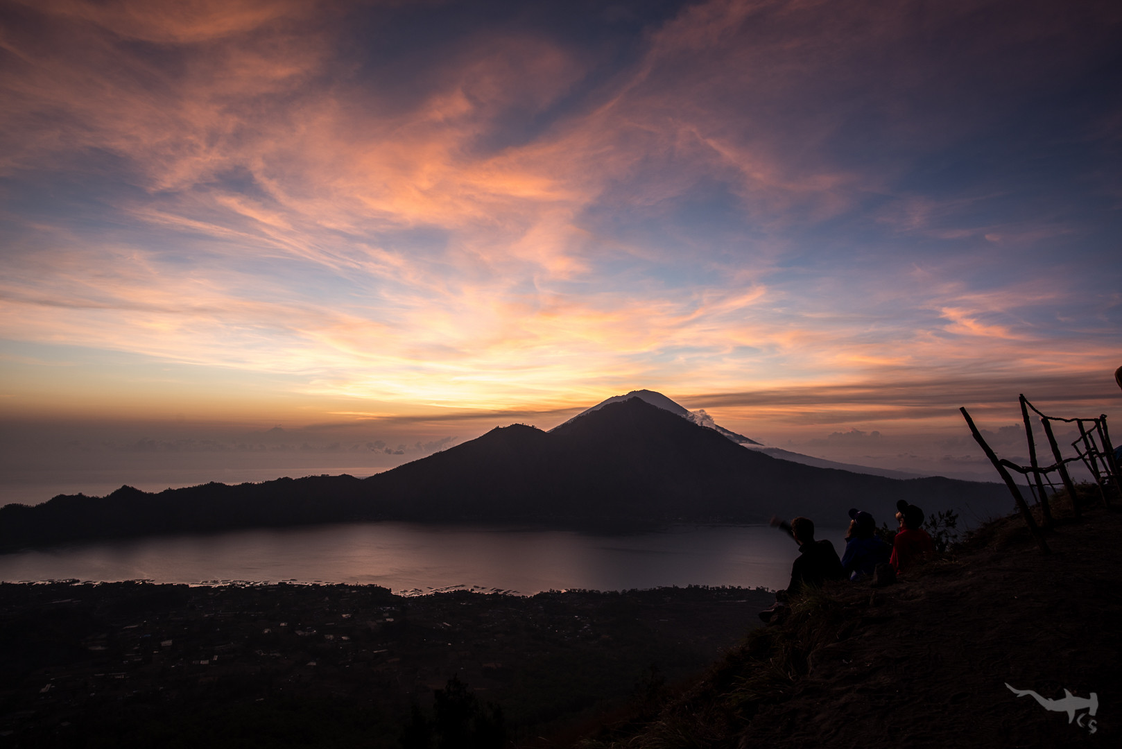 View on vulcano Agung I - Bali/Indonesia