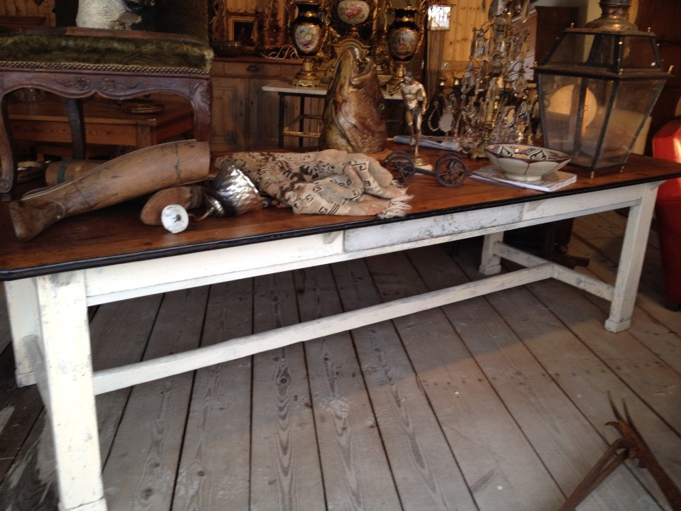 table de ferme 2m50 de long