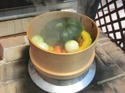 蒸し野菜の出来上がり