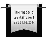 EN 1090-2 zertifiziert