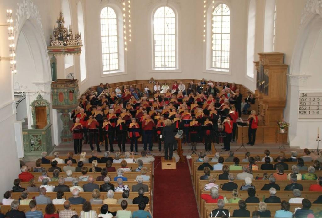 Jörg Frei als Dirigent und Solist