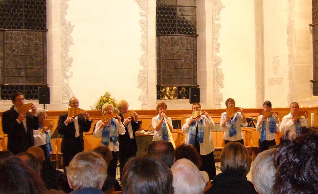 "Panflötenchor ""Pan-da-Bärn"" Wohlen 17.11.2006"