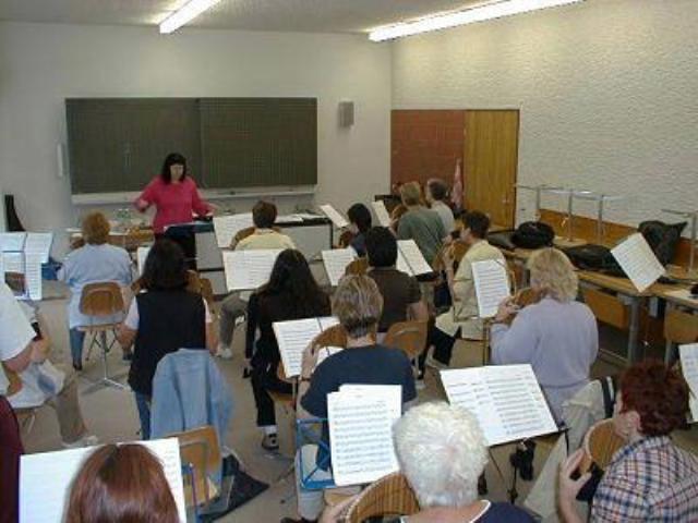 Lies-Anne Schwander Chorarbeit