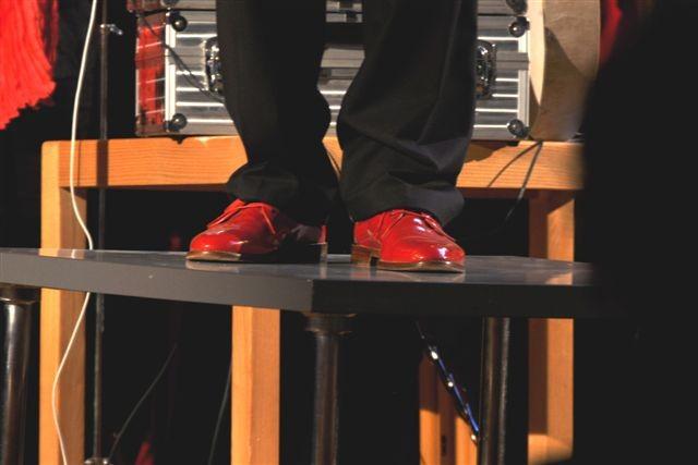 Outfit: Rot + Schwarz, Konzerte 30.5./5.6./9.6.2010