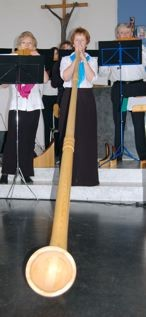 Song of love mit Alphorn von Yvonne