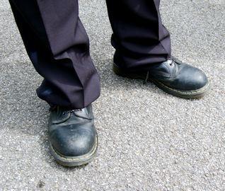 Neue Schuhe?