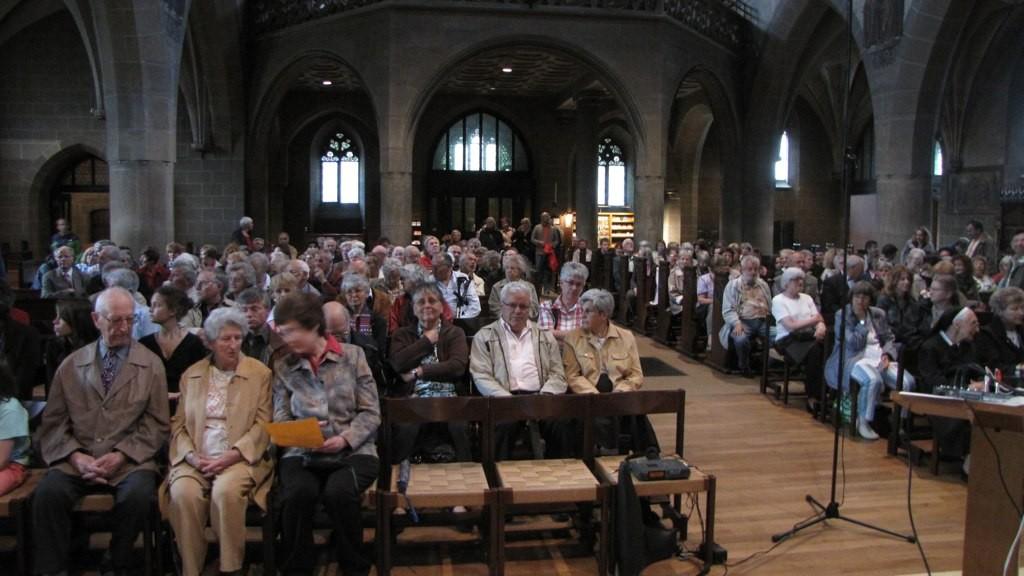 Zahlreiches Publikum