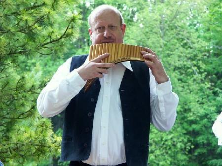 Cedric Monnin, Neuchâtel, Panflötenlehrer
