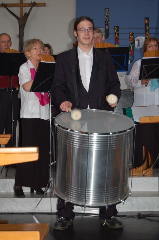 """Panflötenchor """"Pan-da-Bärn""""  Zollikofen, 03.06.2007"""