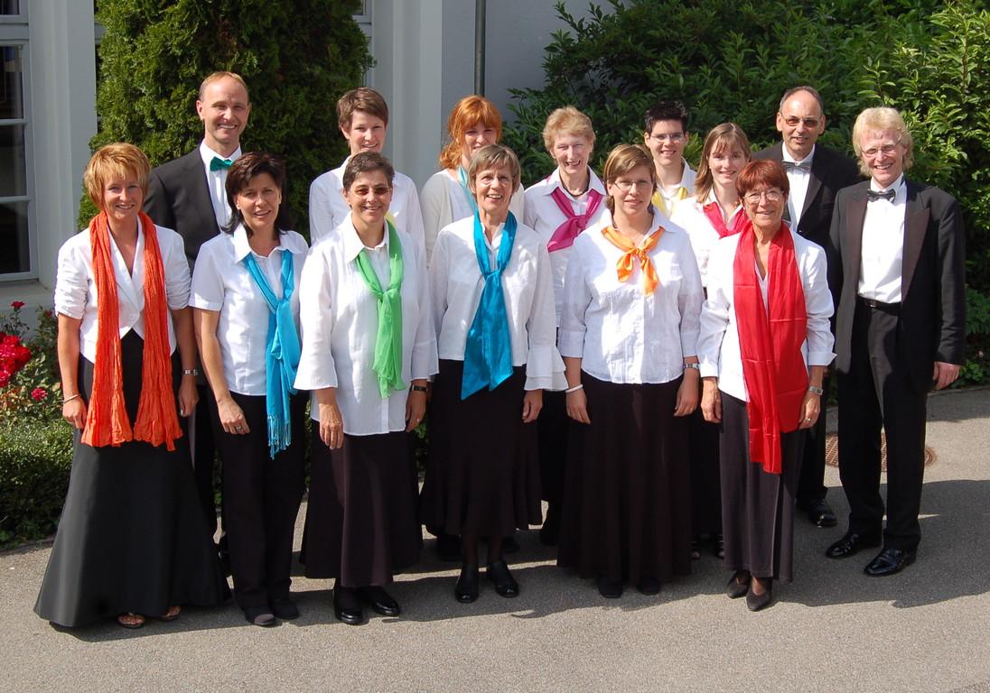Panflötenchor Basel 2007 Chorleiter Jörg Frei