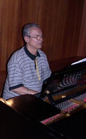 Musiker und Konzertpianist Georg Ciolac