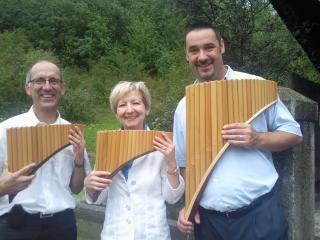 Trio EmotionPan (Michael, Marianne & Tom)