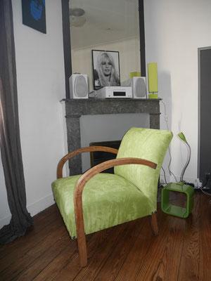 fauteuil studio art deco