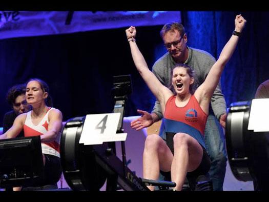 Zieleinlauf: Annabelle Bachmann hat's gechafft
