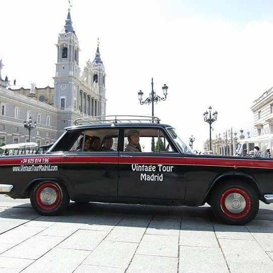 Taxi 1500 mi cámara y yo Telemadrid