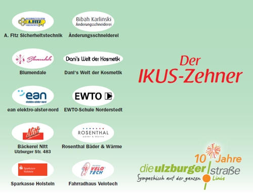 IKUS-Zehner-Rabattkarte