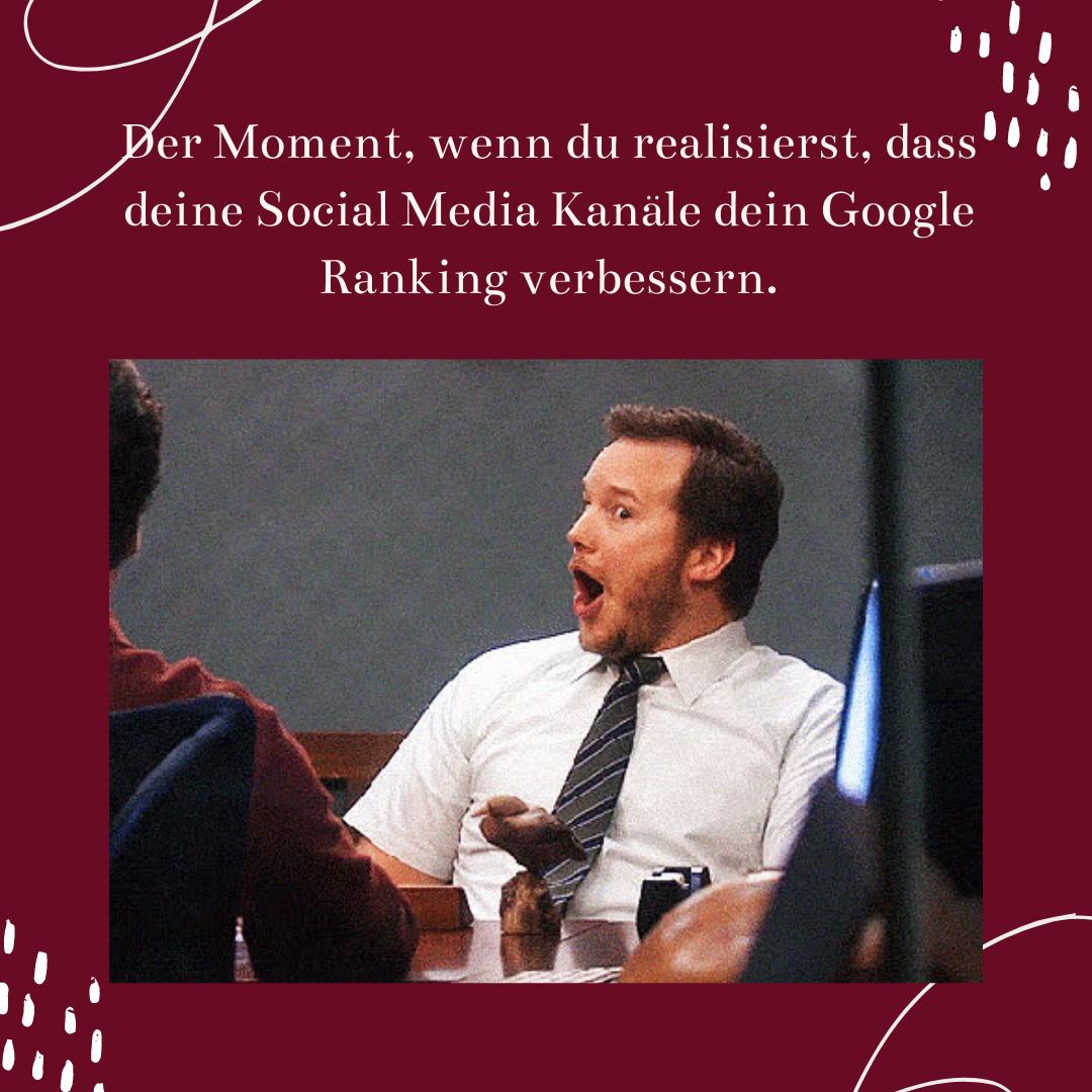 3 Tipps wie Social Media dein Google Ranking verbessern