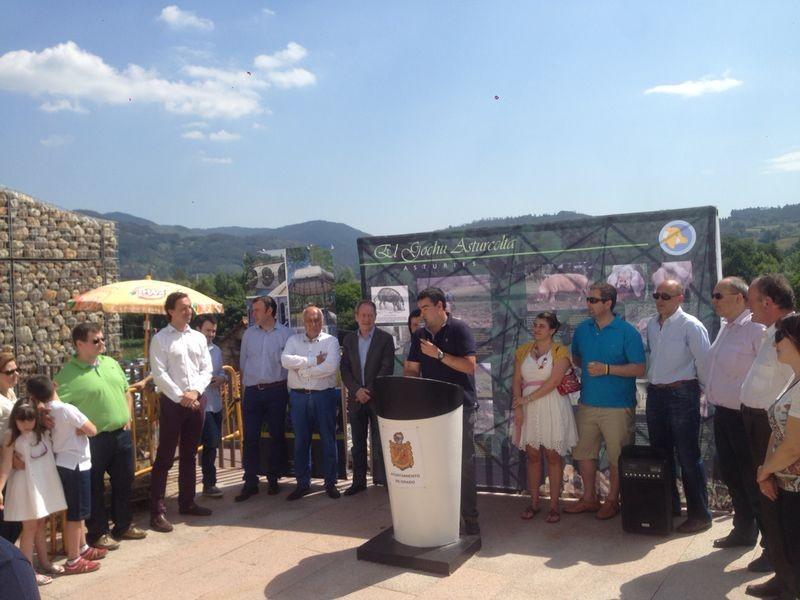 Momento del discurso de José Manuel Iglesias, presidente de ACGA
