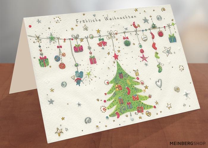 Weihnachtsgirlande Turnowsky Weihnachtskarte