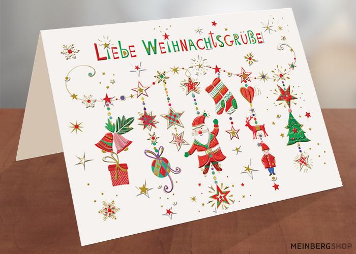 Weihnachtsmobile Liebe Weihnachtsgrüße