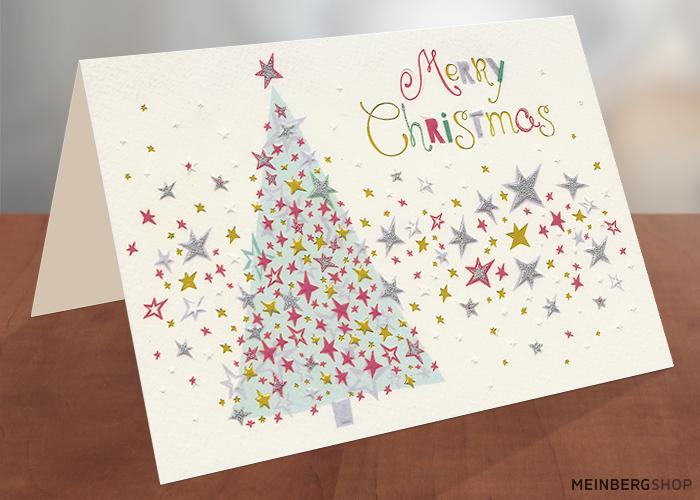 Sternenbaum Merry Christmas