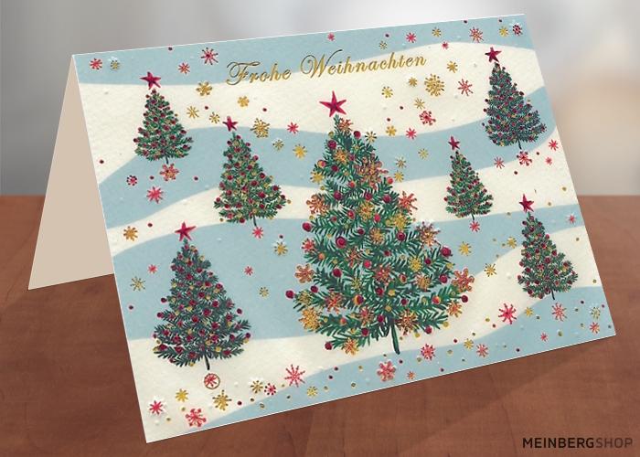 Drei grüne Weihnachtsbäume von Turnowsky's Art