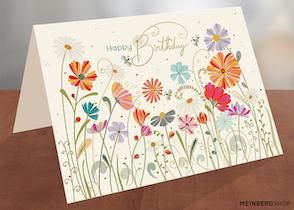 Sonnenblumen Turnowsky Geburtstagskarten