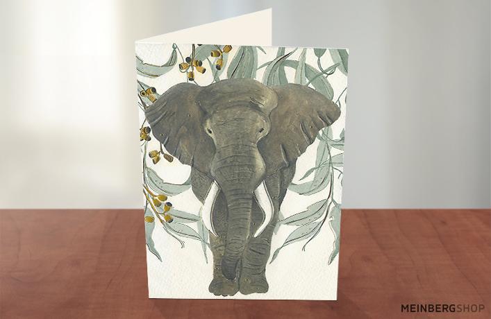 Elefant Turnowsky Karte