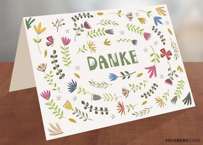 Danke Turnowsky Doppelkarte