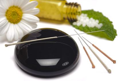 Akupunktur, Globuli, Homöopathie