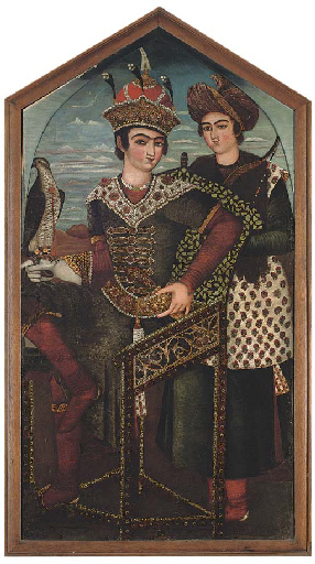 Портрет Кей Хосрова. 1803-4 гг, Аукцион Кристис