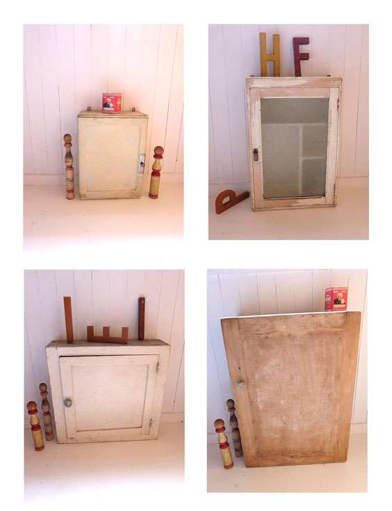 Armoires pharmacie vintage anciennes brocante