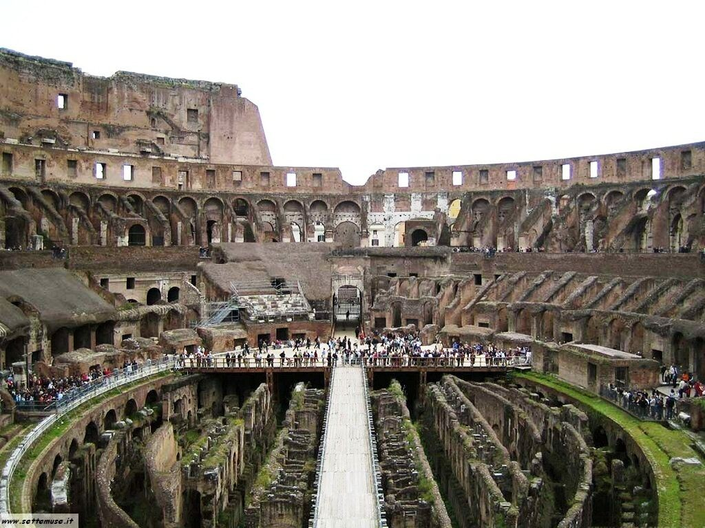 Colosseo - vista interno