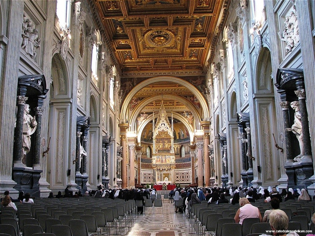 Basilica S. Giovanni in Laterano - vista interna