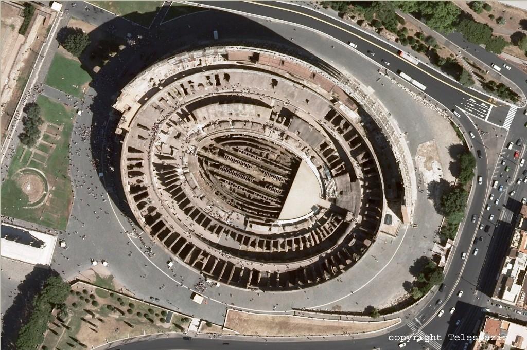 Colosseo - vista dall'alto