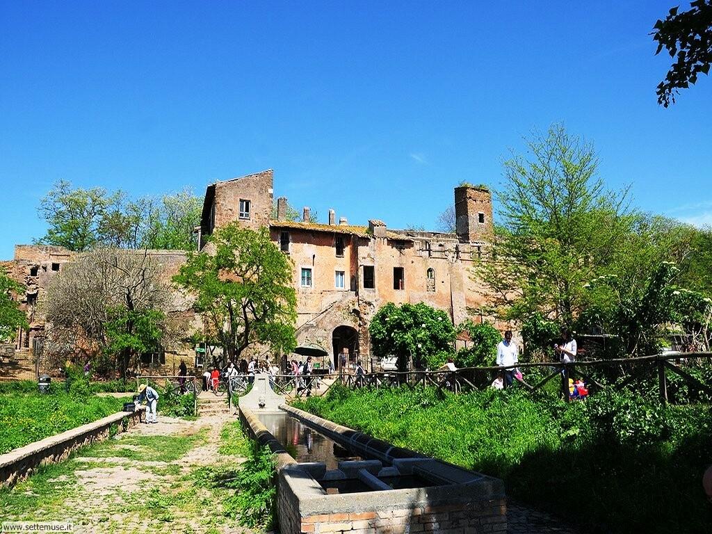 Parco della Caffarella - Fattoria medioevale