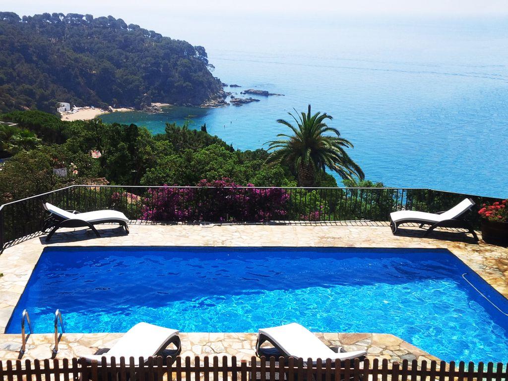 Location vacances villas Cala Canyelles Lloret de Mar