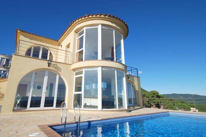 Location vacances villas Canyelles Lloret de mar