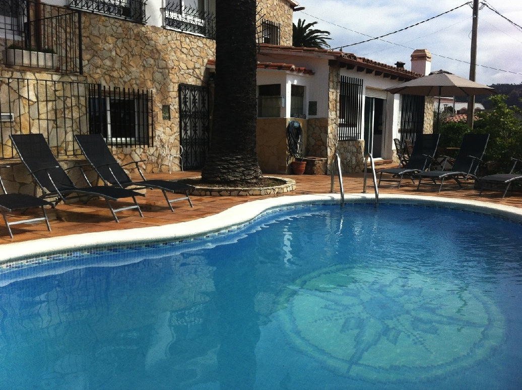 Location villa avec piscine privée Tossa de mar