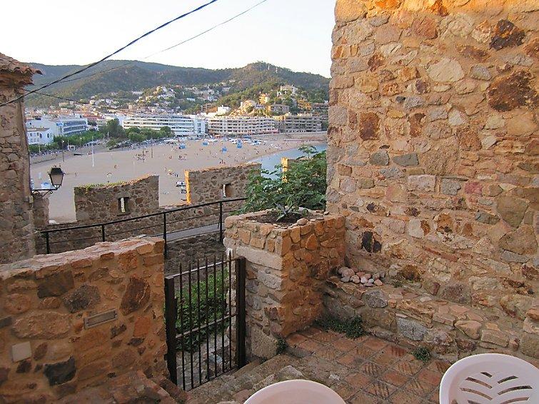 Location maison de village avec vue mer Tossa de Mar