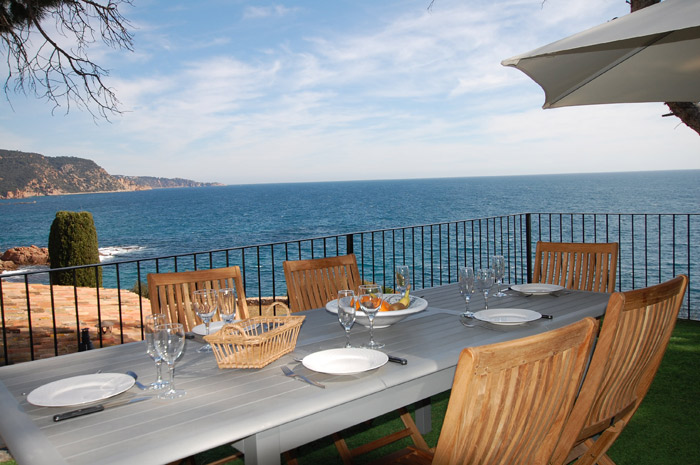 Belle maisons à louer avec vue mer Tossa de Mar