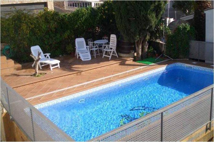 Location villa avec piscine sécurisée Tossa de Mar