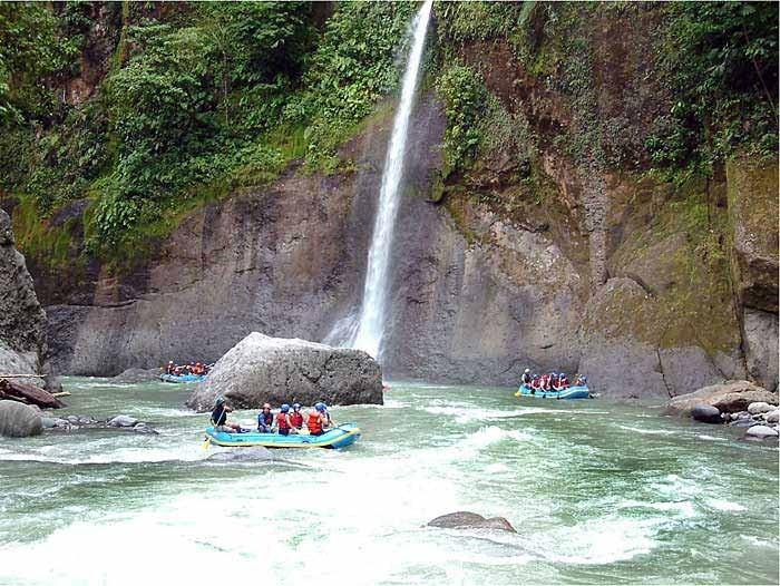 Jour 3 : Rafting sur la riviere Pacuare