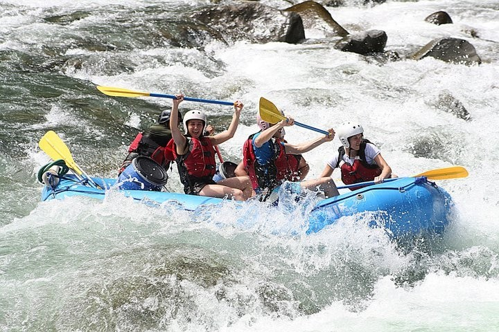 Rafting sur la riviere Pacuare