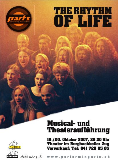 2007 MUSICAL - THE RHYTHM OF LIFE