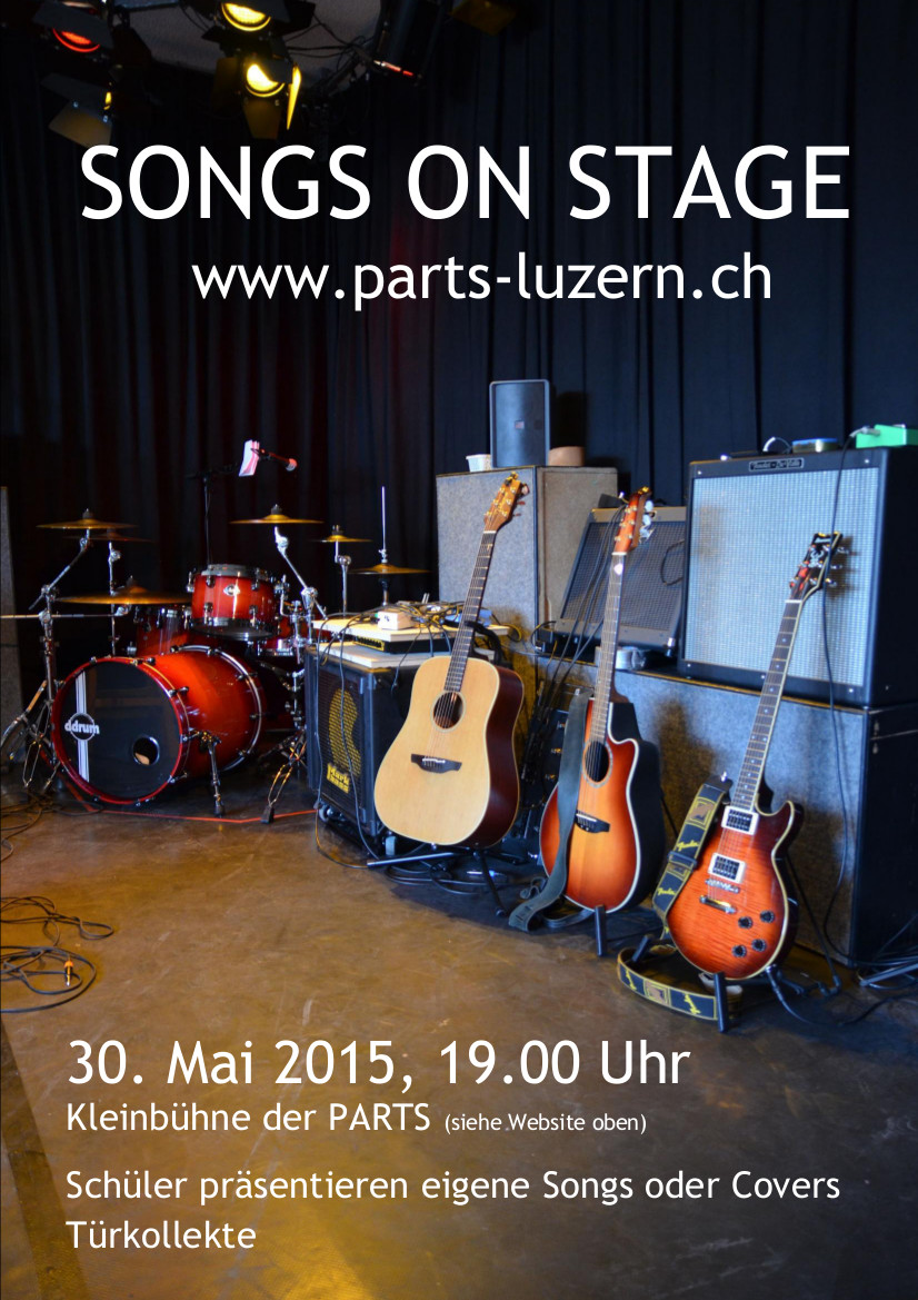 2015 KONZERT - SONGS ON STAGE