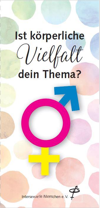 Flyer Intersexuelle Menschen 2